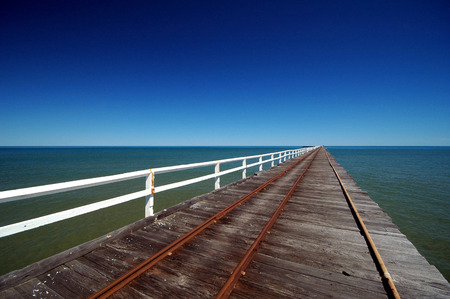 one mile jetty in carnavorn, western australia