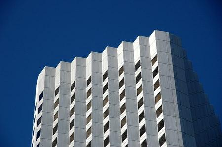 the council: facade of council house, Perth