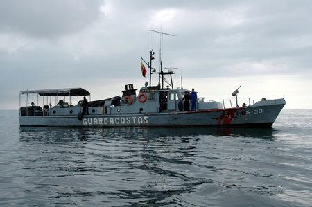 coast guard: coast guard boat,Ecuador