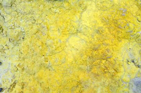 sulphur spring in vulcano