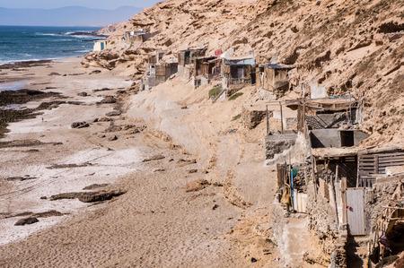 massa: fishing village on the Atlantic coast, Souss Massa National Park, Morocco