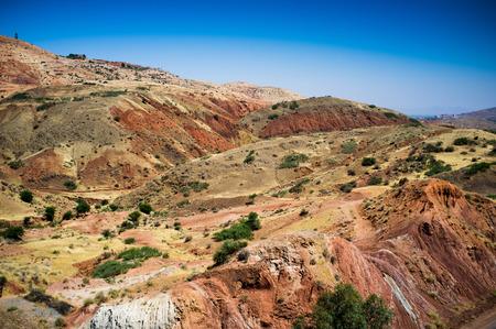 ballad: Zat Valley in the High Atlas Mountains, Morocco, Arrica