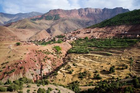mococa: Toubkal National Park, High Atlas, Morocco Stock Photo