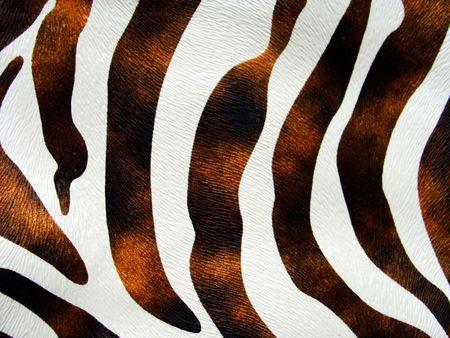 imitation: zebra imitation leather texture                               Stock Photo