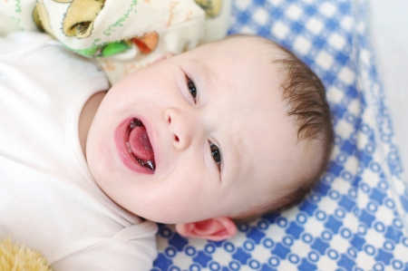 capricious: Six-months baby cries