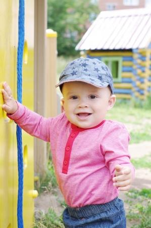 baby on playground