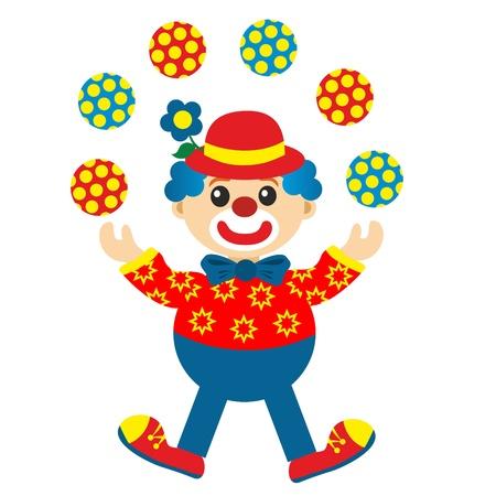 juggler: clown juggler