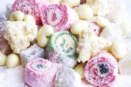 gamme de produit: Bonbons turcs Banque d'images