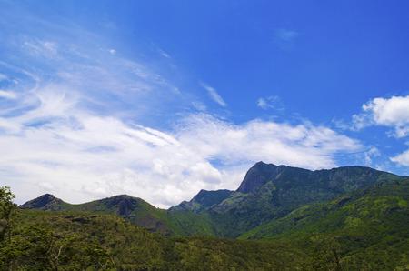 Munnar Hills Stock Photo