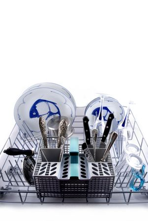 You can use the dishwasher in the kitchen! photo