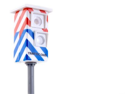 control the speed-limit of the traffic Stock Photo - 1343770