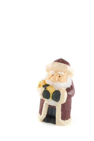Santa Claus on white background photo