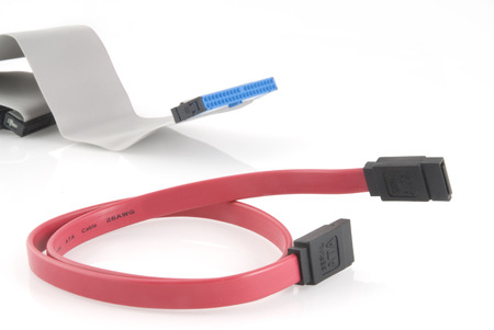sata: Old ide and new sata cable
