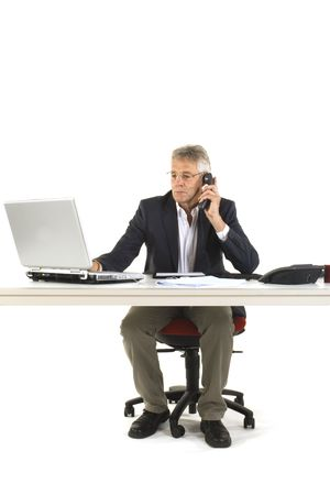 telephone-call at the office by a senior manager