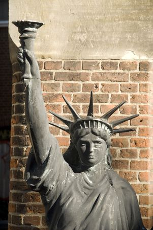 plagiarism from the liberty statue Stock Photo - 1988905