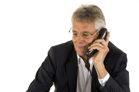 telephone call: senior manager had a friendly telephone call