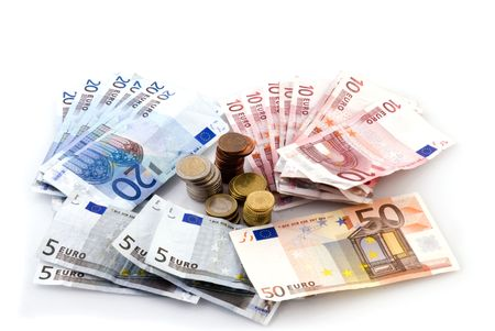 papermoney: Euro money to pay with