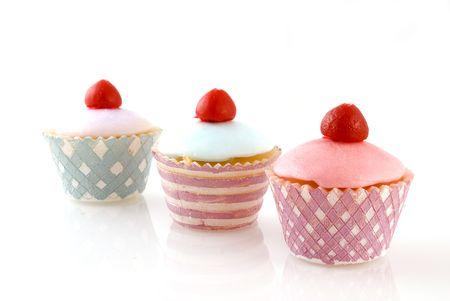 shopwindow: fancy decoration cakes