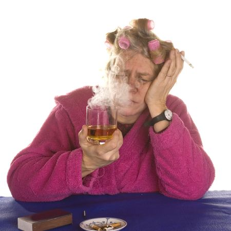 depressive: addiction alcohol and smoking