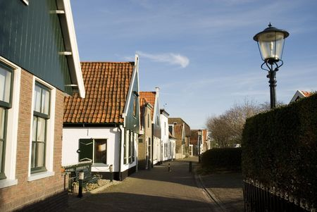 Typical Dutch village Stock Photo - 2614076