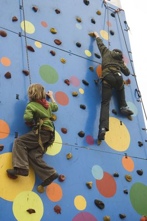 child's: active childs climbing