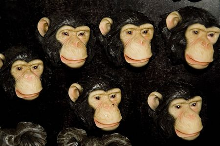 stuffed monkeys to play with photo