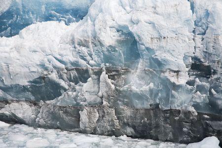 massive ice in Patagonia perito moreno photo