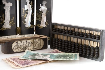 laque: chinese objects and currency