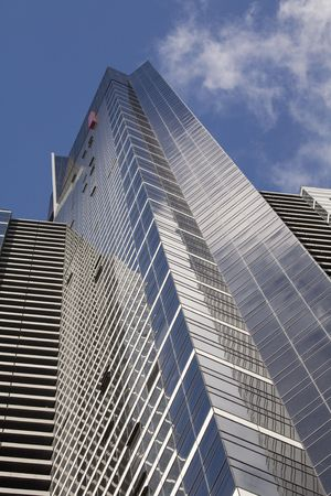 skyscraper as a high office building Stock Photo - 3058279