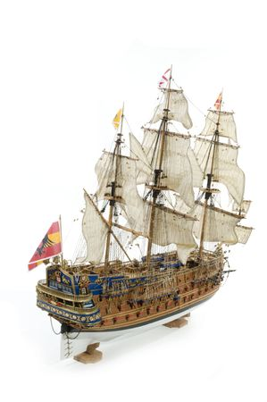 construction navale: Sant Felipe un galion espagnol comme un navire de guerre