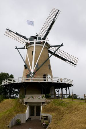 windmill in Holland Stock Photo - 3297579