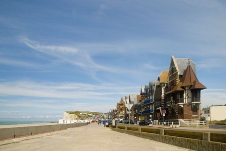 les: Village Les Mers in Normandy Stock Photo