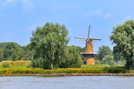 gorinchem: Windmill De Hoop in Gorinchem Holland