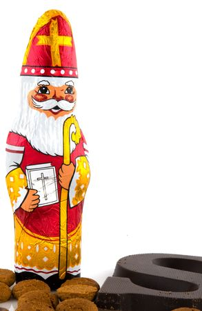 Sinterklaas as a Dutch feast in december Stock Photo - 3674188