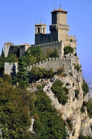 sammarinese: Castello della Guaita nella Repubblica di San Marino