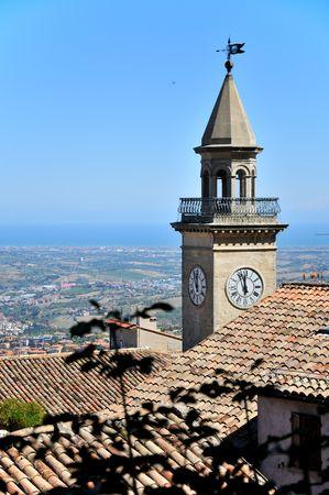 sammarinese: Antica chiesa di San Marino  Archivio Fotografico