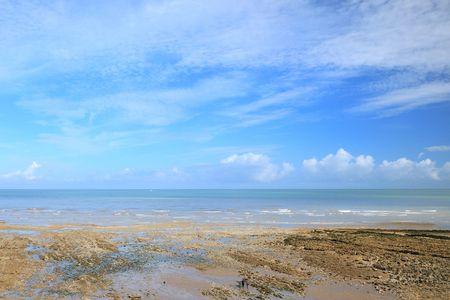 ebb: Ebb tide na plaży