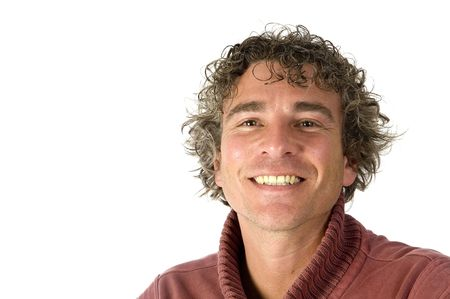 Smiling handsome adult man Stock Photo - 3823845