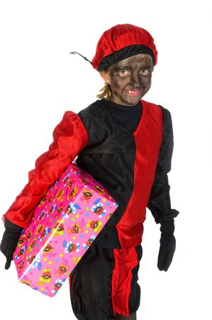 Present from Black Piet in Holland Stock Photo - 3823844