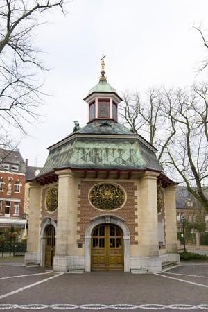 catholism: chapel in the Village Kefelaer Germany Stock Photo