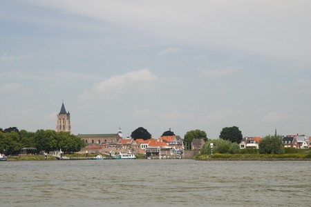 gorinchem: Gorinchem a town in Holland at the river Merwede Stock Photo