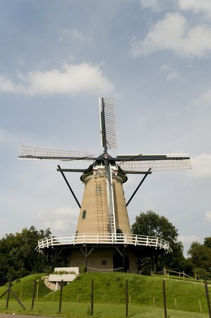 Windmill in Soest Holland Stock Photo - 4069696