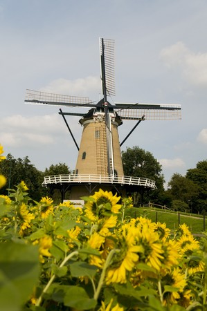 Windmill in Soest Holland Stock Photo - 4145102