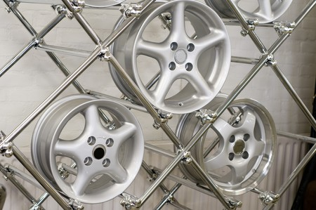 aluminium rims for cars Stock Photo - 4201001