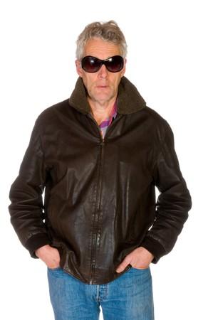scoundrel: Gangster con occhiali scuri