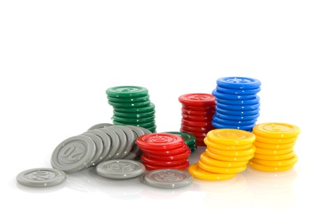 surrogate: fiches as plastic money for gambling