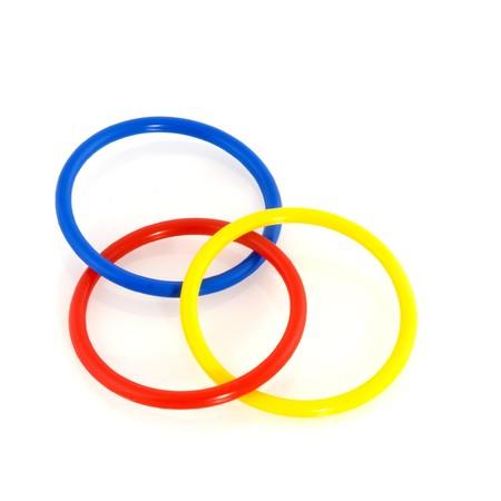 gimmick: Magic plastic rings