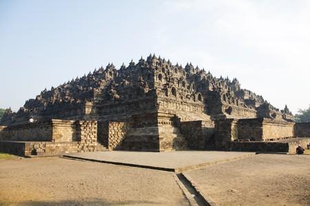 borobudur: Buddhist Borobudur at Java Indonesian