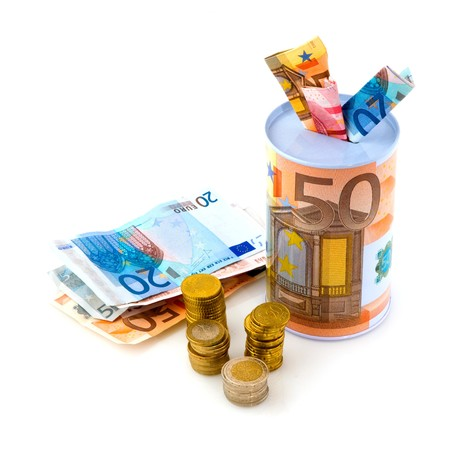 bad times: saving euros for bad times