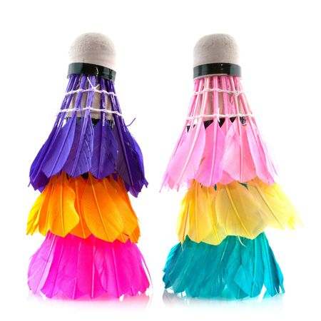 attributes: colorful badminton sports attributes